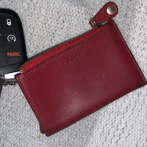 Coach wallet/keychain/coin purse